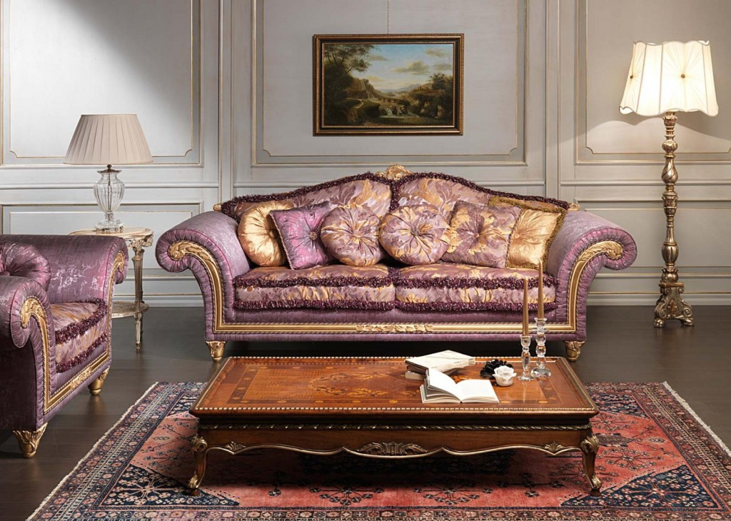 sample luxury classic sofa design pictures