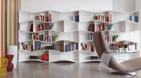 Kitaplık Dekorasyon Fikirleri 2014