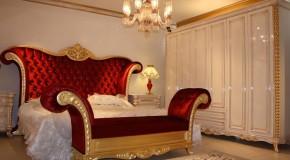 Prenses Klasik Yatak Odası ile Kendinizi Şımartın