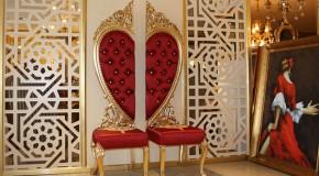 Özel Günler İçin Venüs Kalpli Sandalye