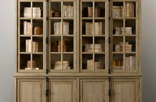Eskitme Kitaplık Mobilya